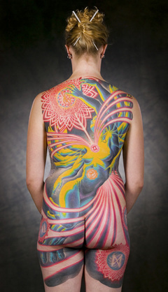 Full Back Body Paint