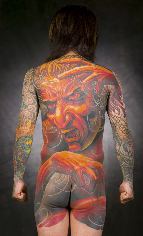 Amazing Japanese Demon Tattoo. at 5:55 PM · Email This BlogThis!