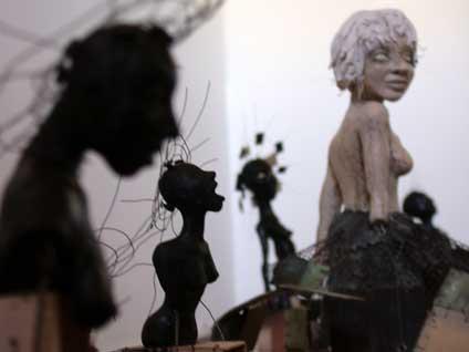 kari byron mythbusters sculpture